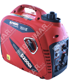 Motogeneratore inverter DUCAR D 2000iS