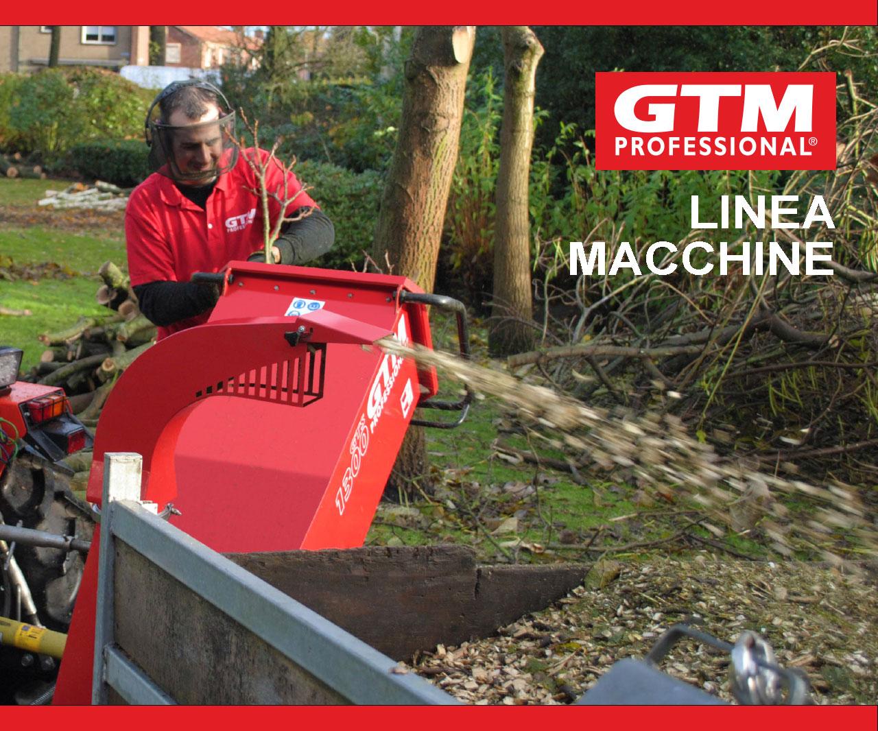 Biotrituratori GTM Professional