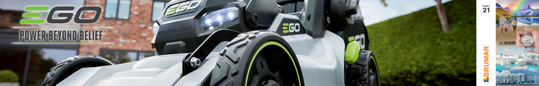 EGO brand banner