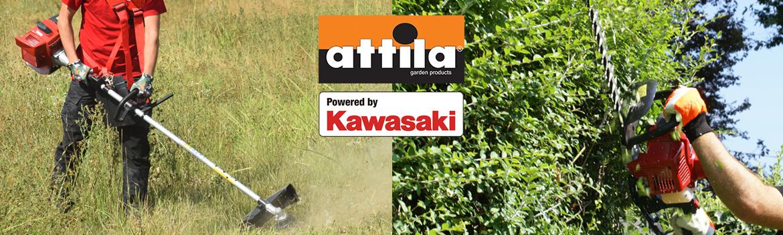 Powered Kawasaki banner